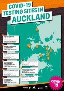 検査場地図Map_COVID-19_Testing Clinic sites-Aucklandのサムネイル
